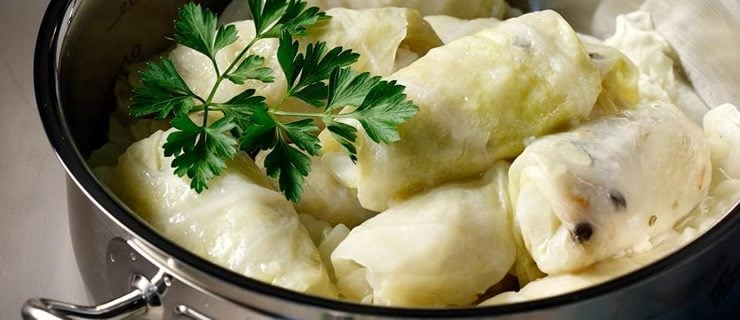 Συνταγή για Καρτοφί ντολμάδες