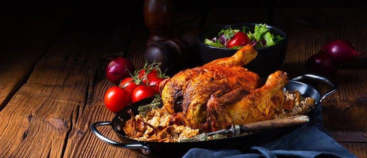 Κοτόπουλο με πλιγούρι και πασκιτάν