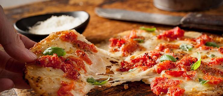 Πίτσα με φύλλα Περέκ